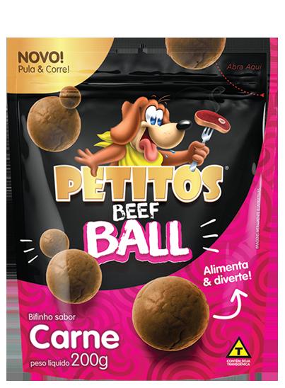 PETITOS BEEF BALL SABOR CARNE 200g Image