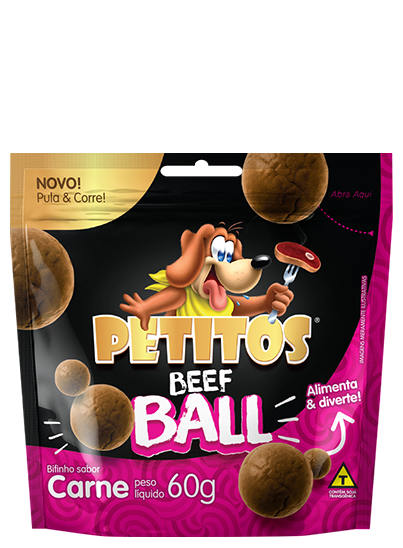 PETITOS BEEF BALL SABOR CARNE 60g Image
