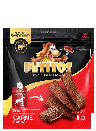 PETITOS BIFINHO SABOR CARNE 1kg Image