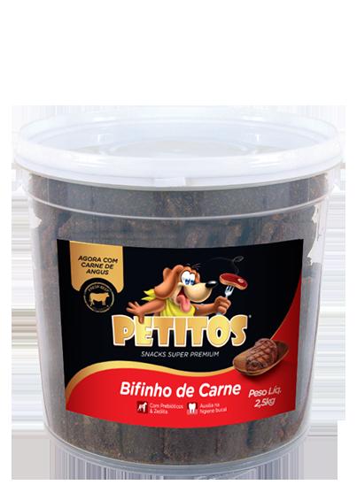 PETITOS BIFINHO SABOR CARNE 2,5kg Image