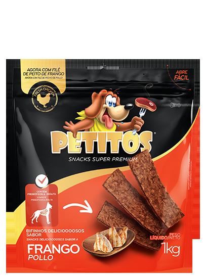 PETITOS BIFINHO SABOR FRANGO 1kg Image