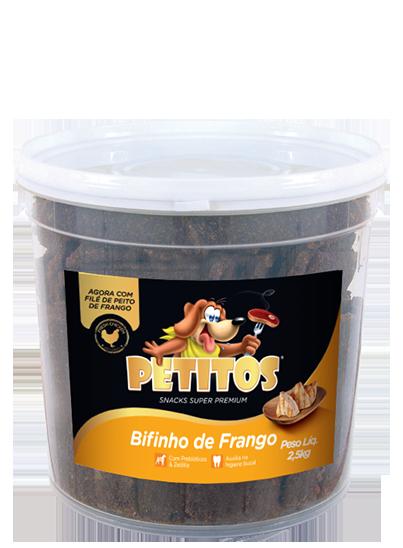 PETITOS BIFINHO SABOR FRANGO 2,5kg Image