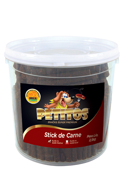 PETITOS STICK SABOR CARNE 2,5kg Image