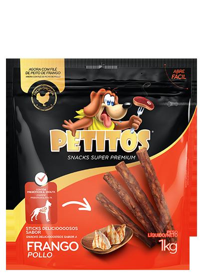 PETITOS STICK SABOR FRANGO 1kg Image